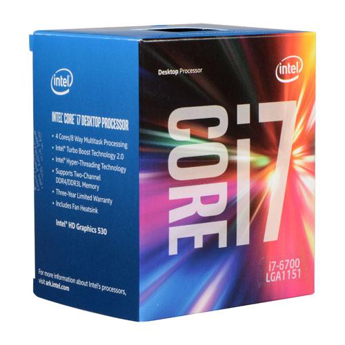 procesador corei7 6700 sexta generacion