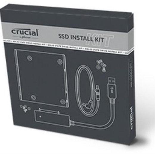 caja  para disco duro 2.5 Crucial SSD