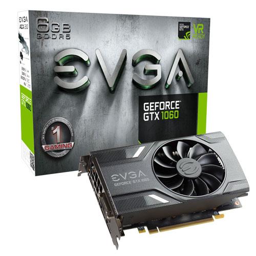 Tarjeta  GeForce GTX 1060 GAMING 6GB DDR5