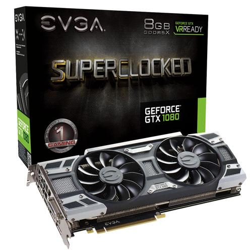 Tarjeta  EVGA GeForce GTX 1080 SC 8GB F0